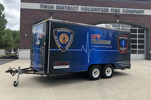 CPR Training Trailer